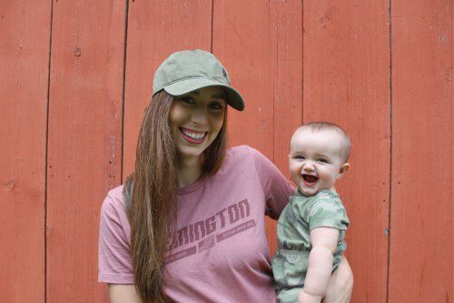 Aly from Alabama and her child