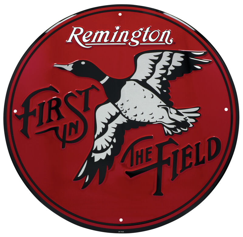 First in the Field Retro Sign