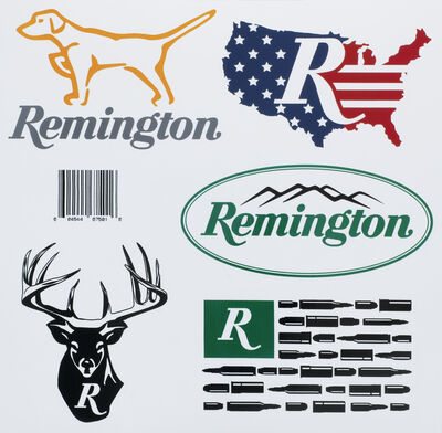 Remington Sticker Pack